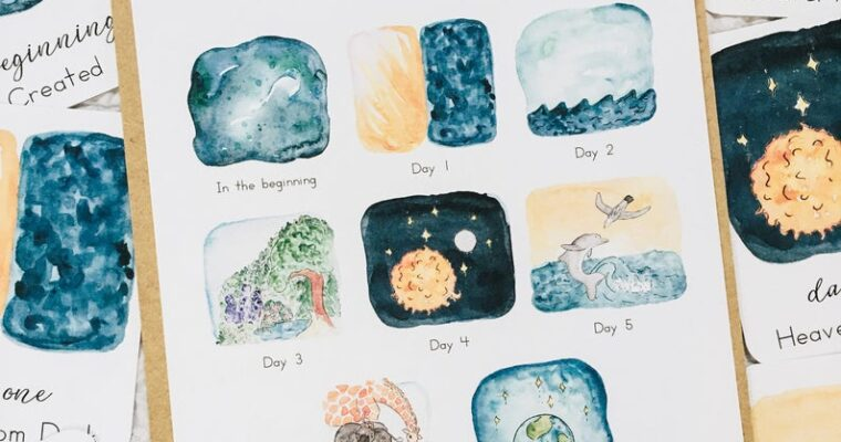 Montessori Inspired Creation Unit – Day 5
