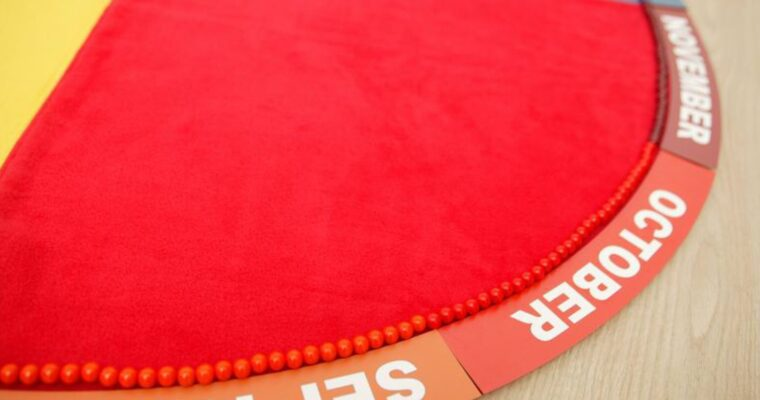 How to use the Montessori Annual Cycle Mat