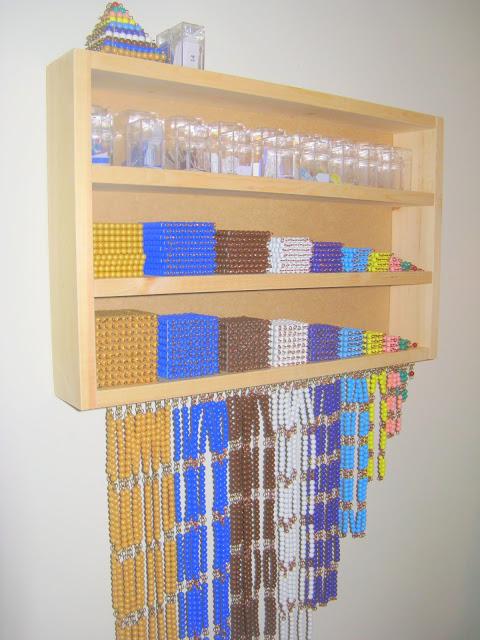 Montessori Bead Cabinet DIY
