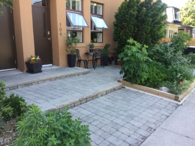 Privacy Patio -  BEFORE