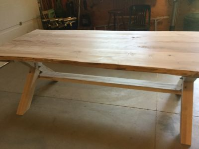 Solid Maple Harvest Table