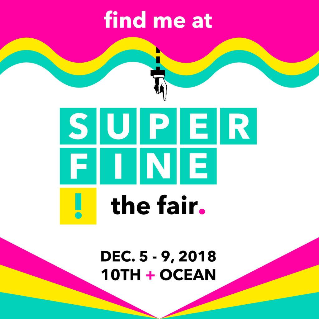 Anna Drew at Superfine! The Fair. Miami Beach, FL