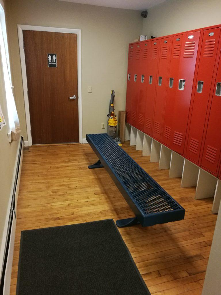 Alton Gym Locker room