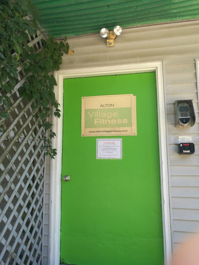 Alton Village Fitness Entrance