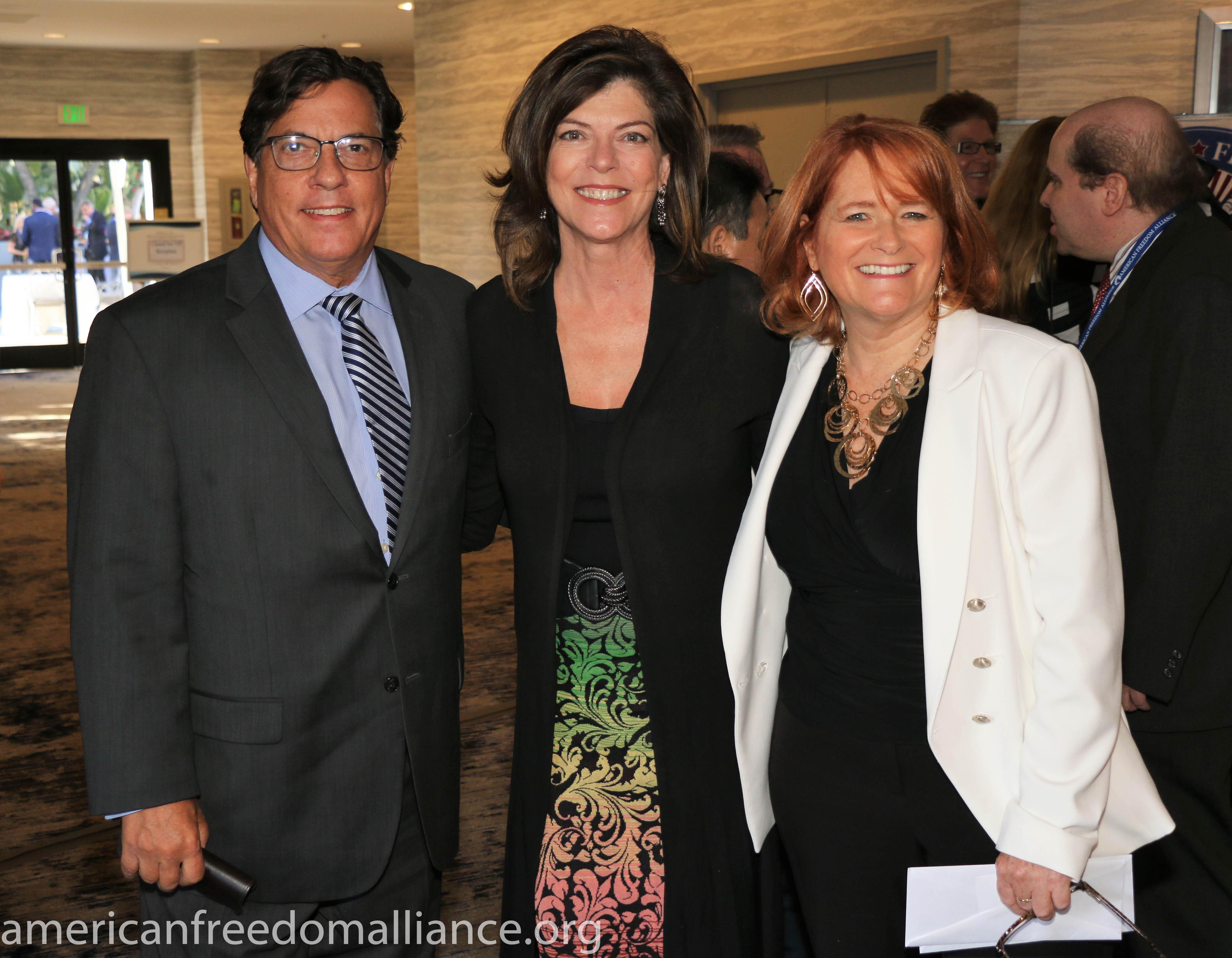 Bill and Gigi Becker with Karen Siegemund