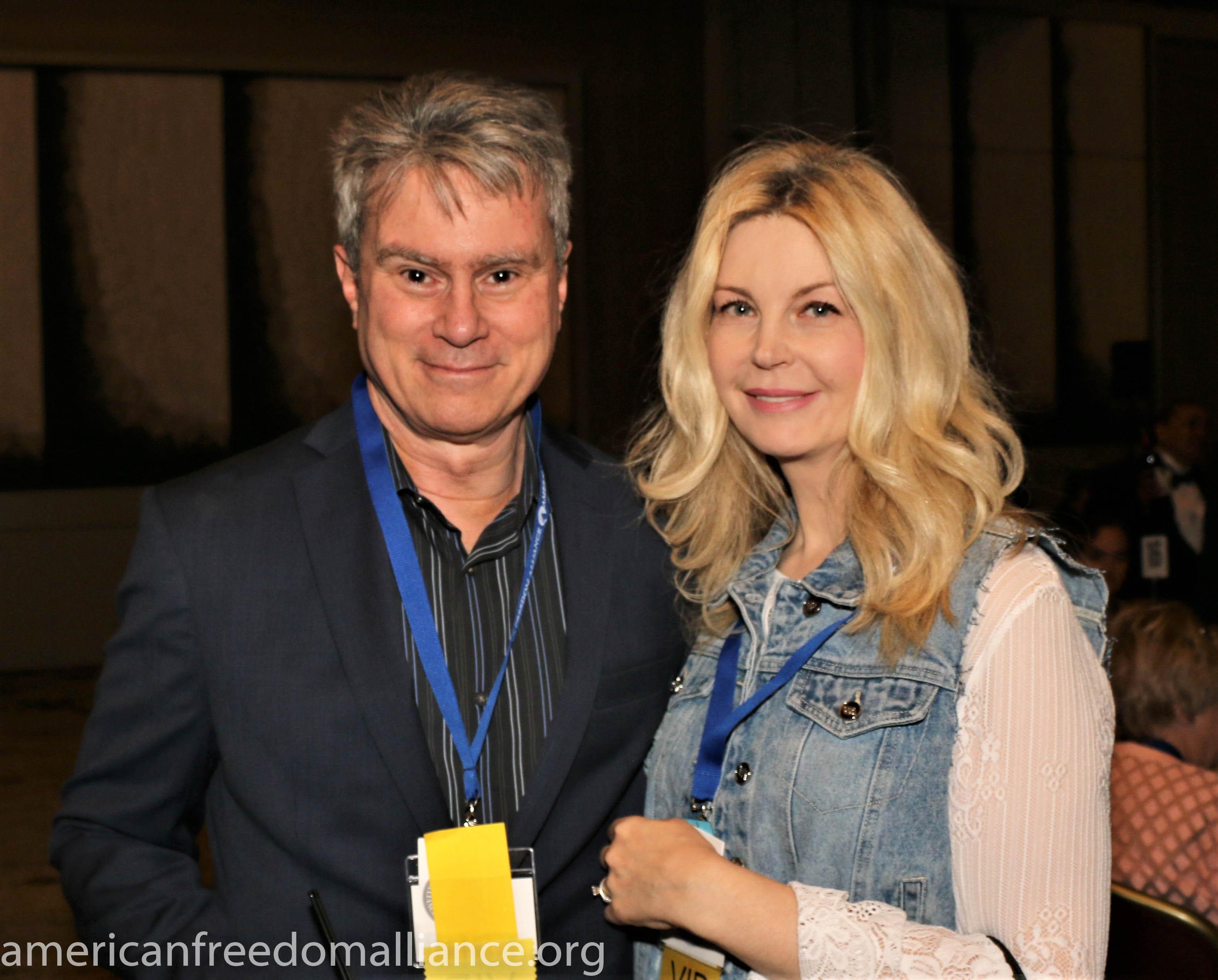 Bill and Natasha Whittle