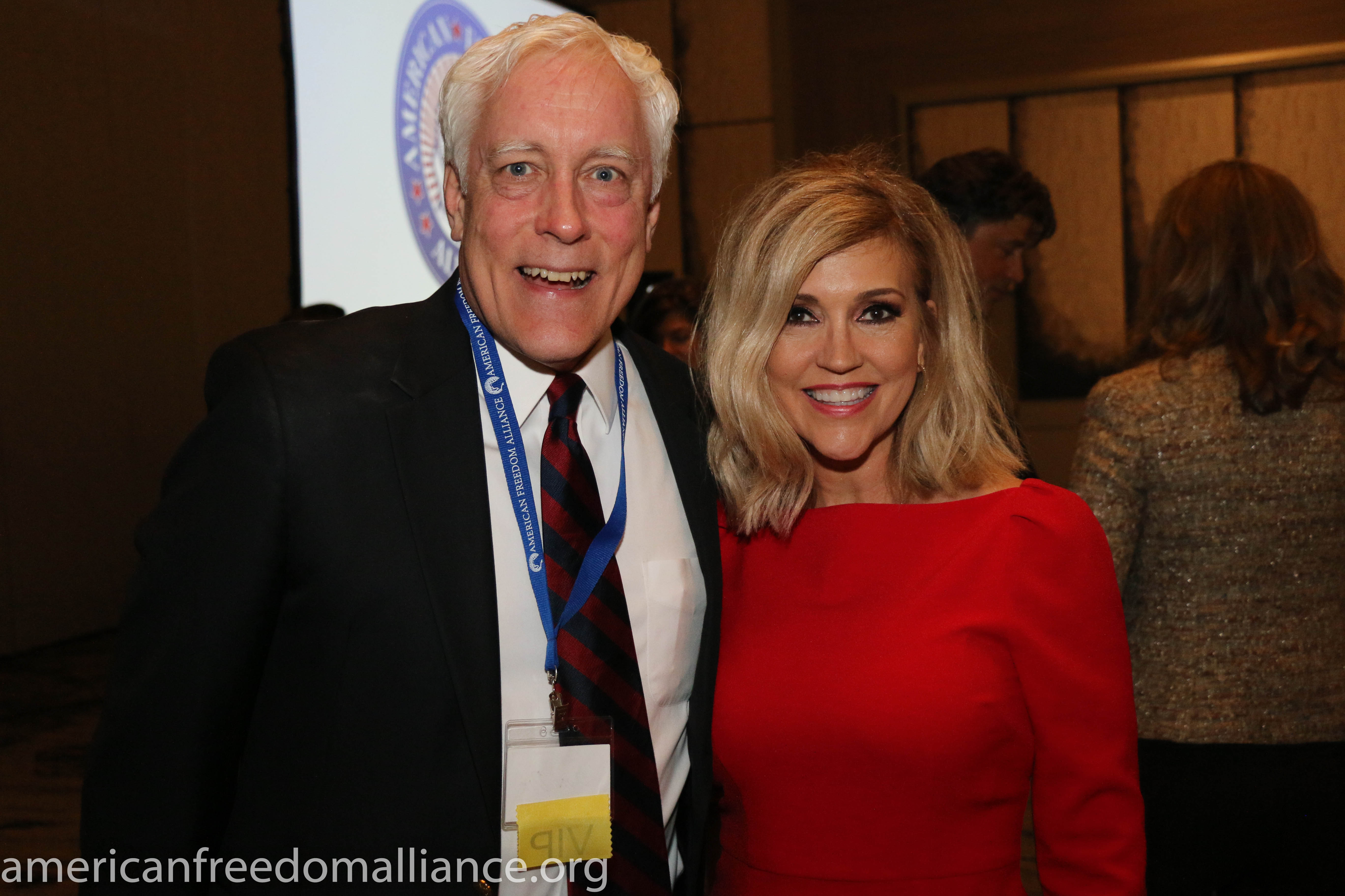 Donald Dix and Ann-Marie Murrell