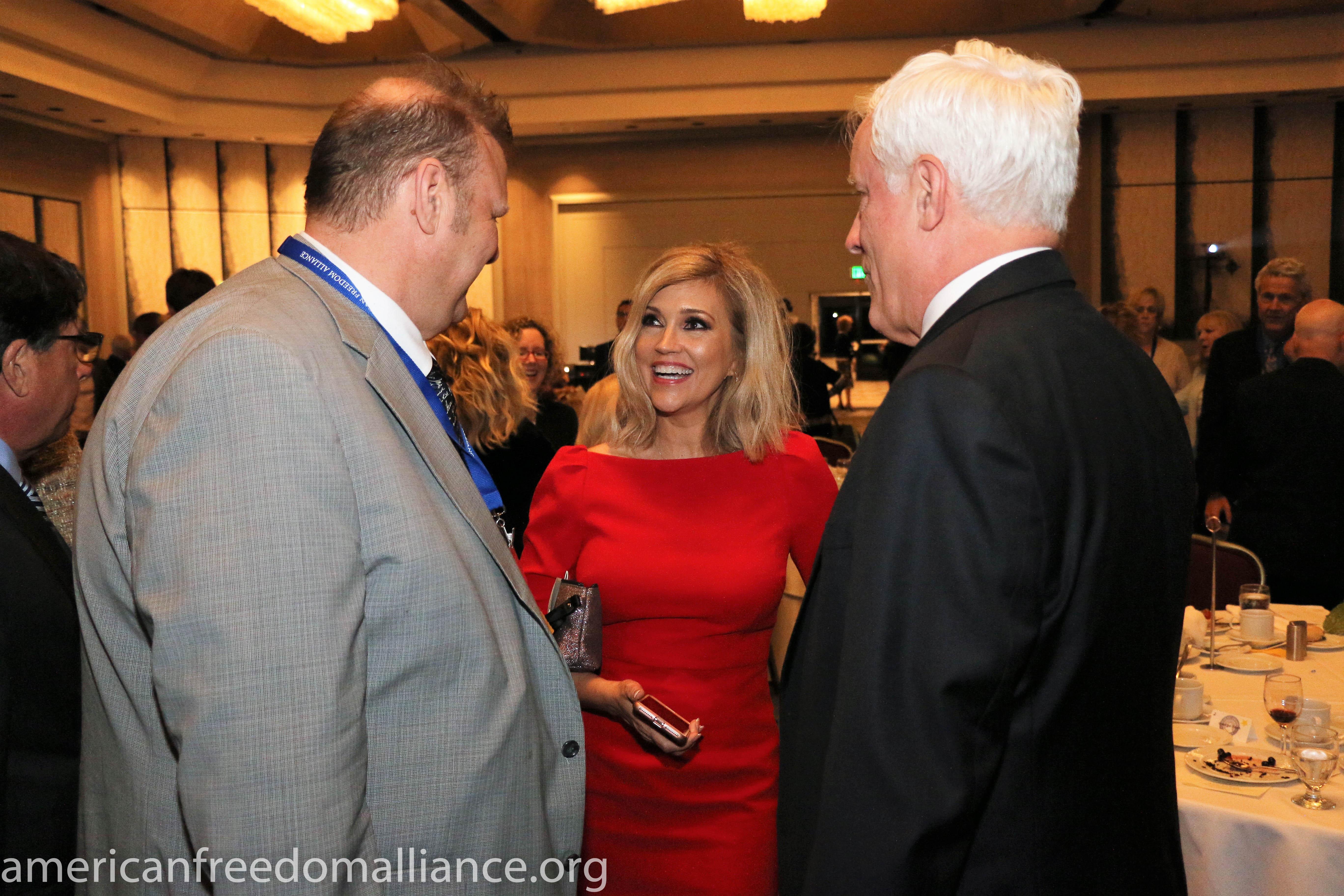 John Hancock, Ann-Marie Murrell and Donald Dix