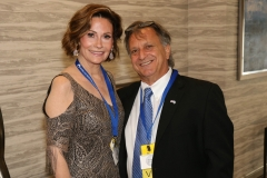 Julie Gilbart and Evan Sayet