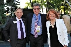 Mark Meuser, Howard Hyde and Karen Siegemund