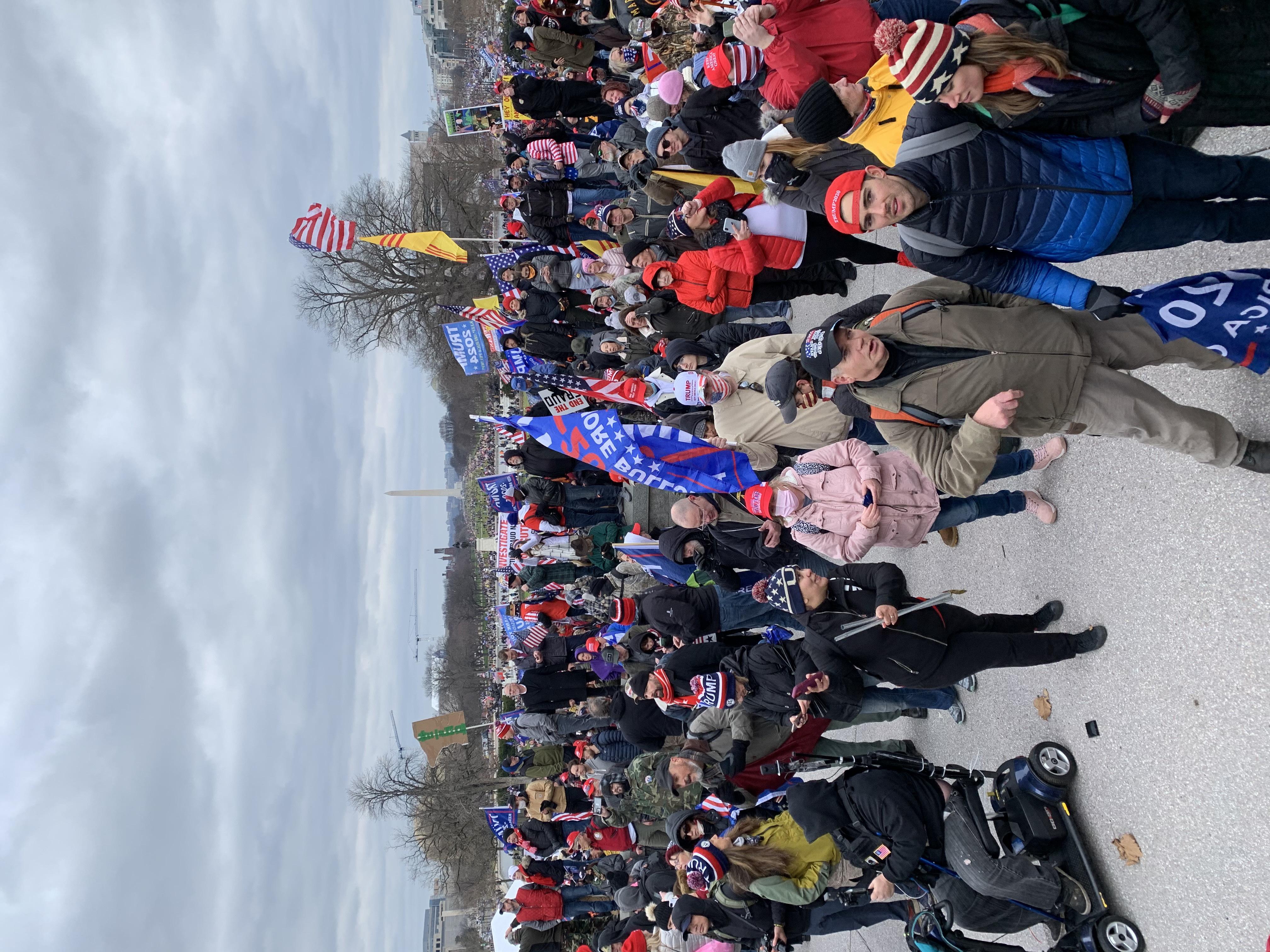 A Patriotic Crowd