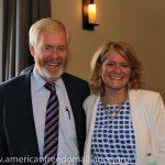 Karen with Brent Bozell