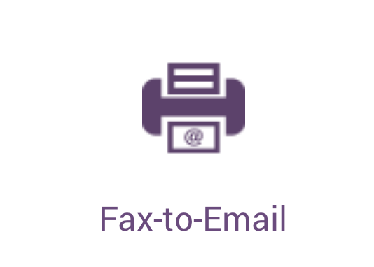 vOffice fax to email