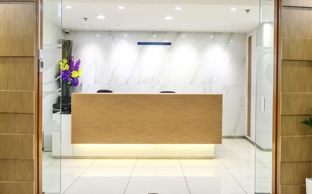 vOffice Reception Lobby