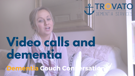 Dementia Couch Conversations: Video Calls with People with Dementia may not be a great idea!