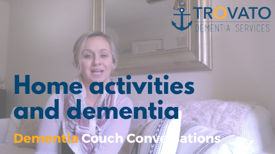 Dementia Couch Conversations: Engagement in the home for people with dementia.