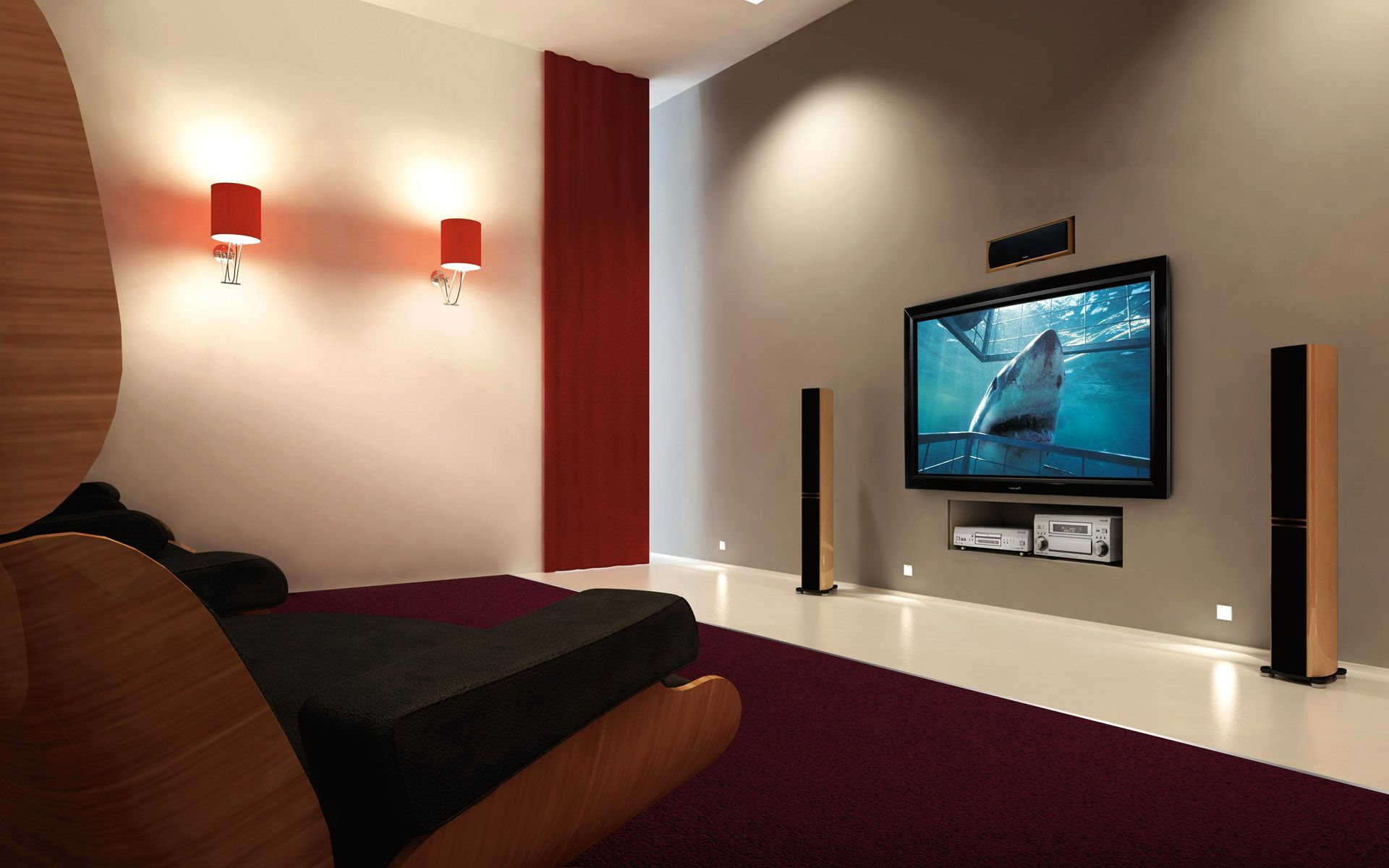 awesome-wall-mount-tv-idea-with-simply-look