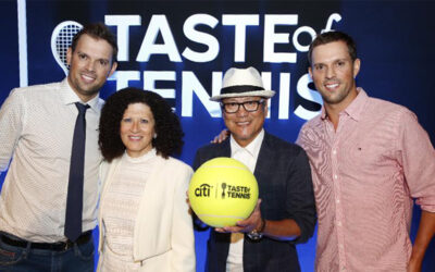 CUPCAKE SUSHI FEATURED CHEF AT CITI TASTE OF TENNIS