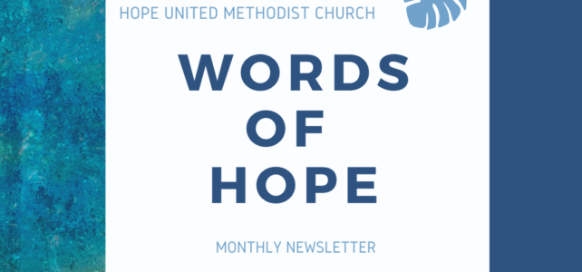 Words of Hope for November 2020