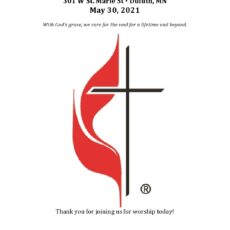 Worship Kit for May 30, 2021