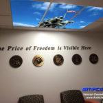 LED Skylight VA hospital