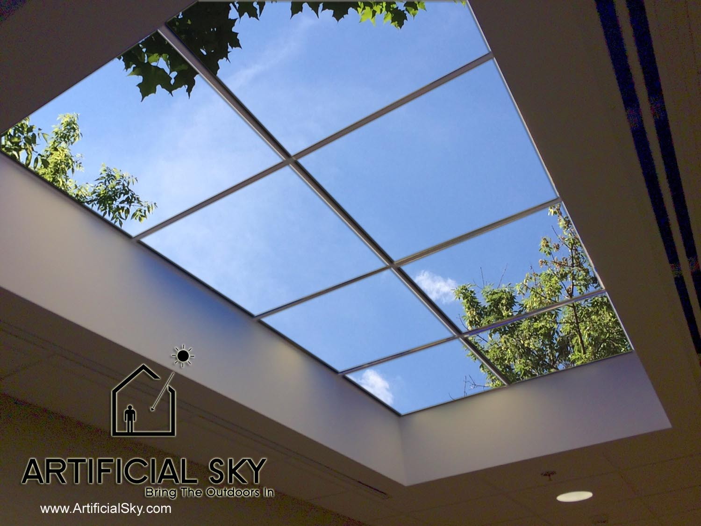 LED skylight office