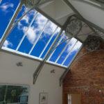 custom metal work sky ceiling