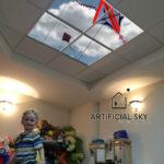 artificial sky ceiling kids playroom ideas