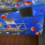 artificial sky reading room library ceiling