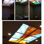dental office ceiling art sky ceiling
