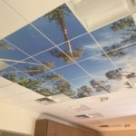 hotel acoustic tile sky ceiling