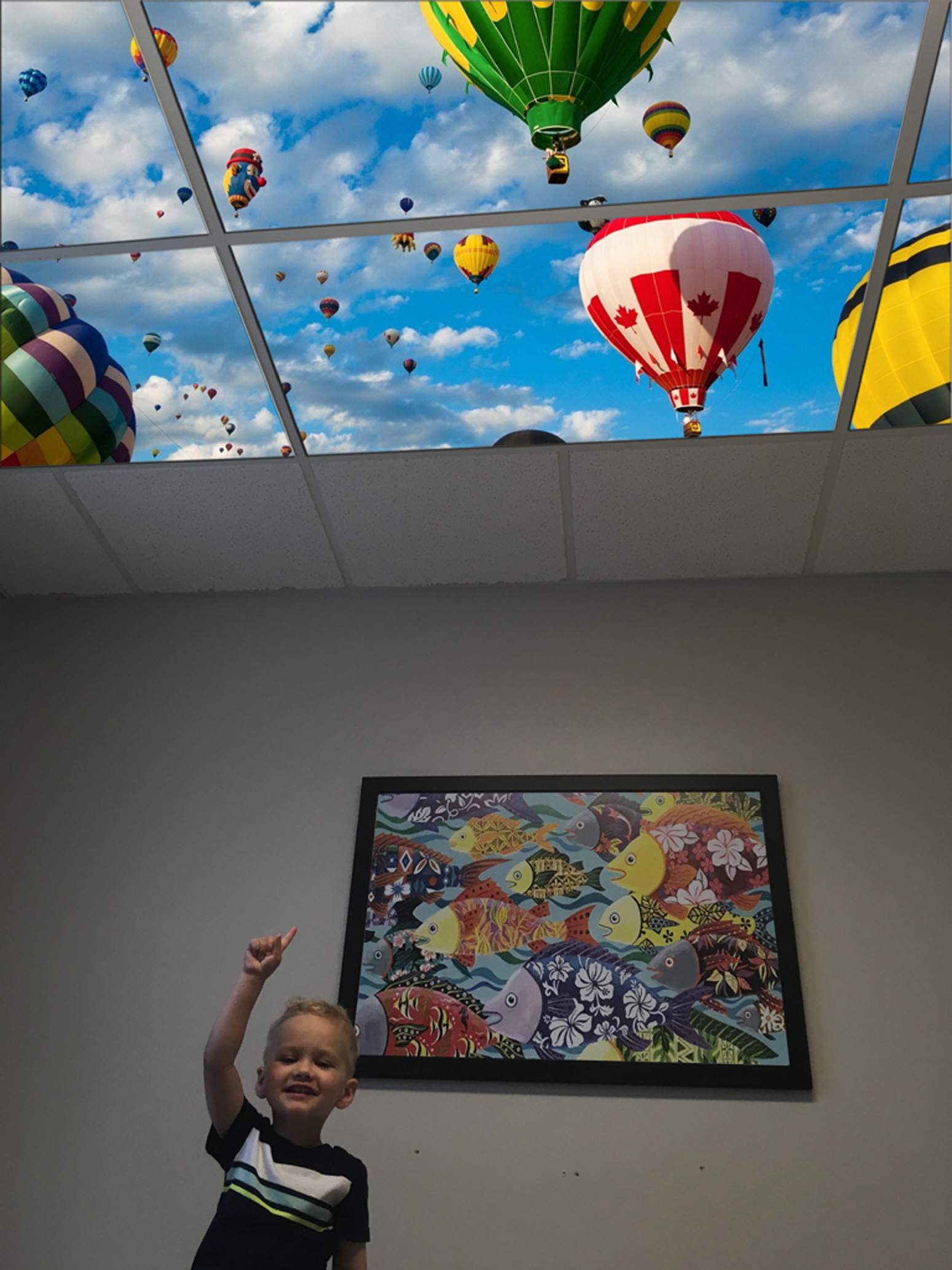 pediatric treatment room led skylight