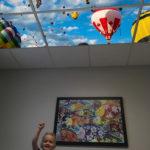 pediatric ceiling art