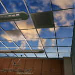 sports stadium gym locker room sky ceiling