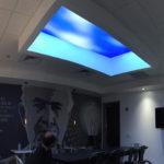 virtual sky office break room design