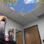 LED Skylight sky ceiling