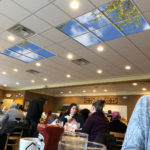 restaurant artificial sky ceiling panels