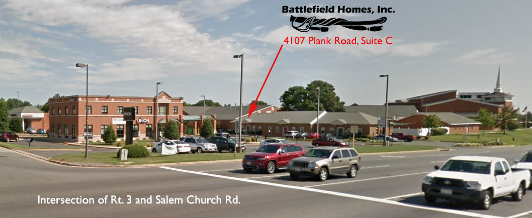 Intersection of Rt. 3 and Salem Church Rd.