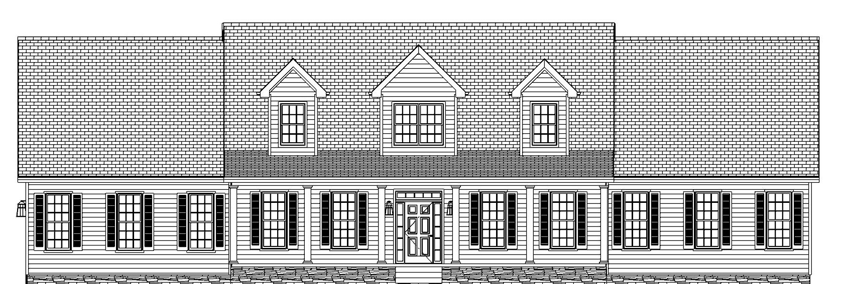 The Highland, Front Elevation