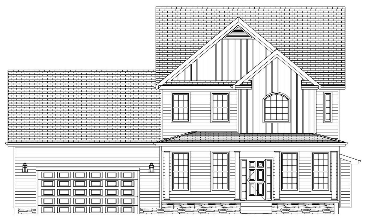 The Freedom, Front Elevation