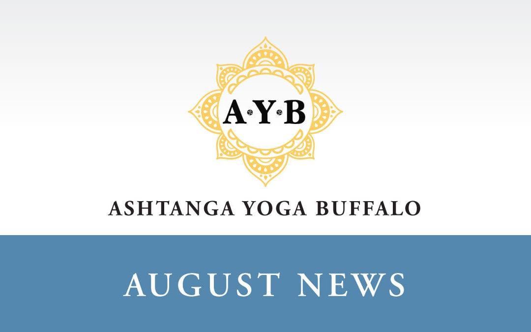 AUGUST NEWS