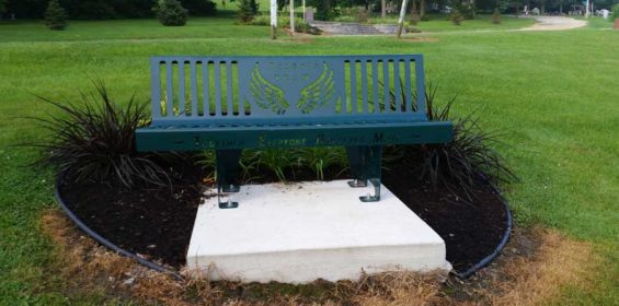 Tylers-TEAM-Bench-Donated-to-Juda-Park