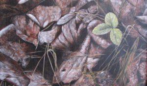 """""""New growth"""", acrylic on canvas"""