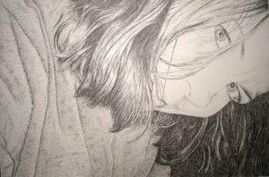 Portrait H, pencil on paper, 16x24