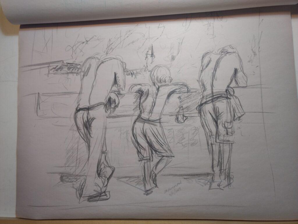 Sketch by John Huisman