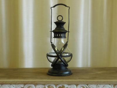 Antique Black Lantern for event rental