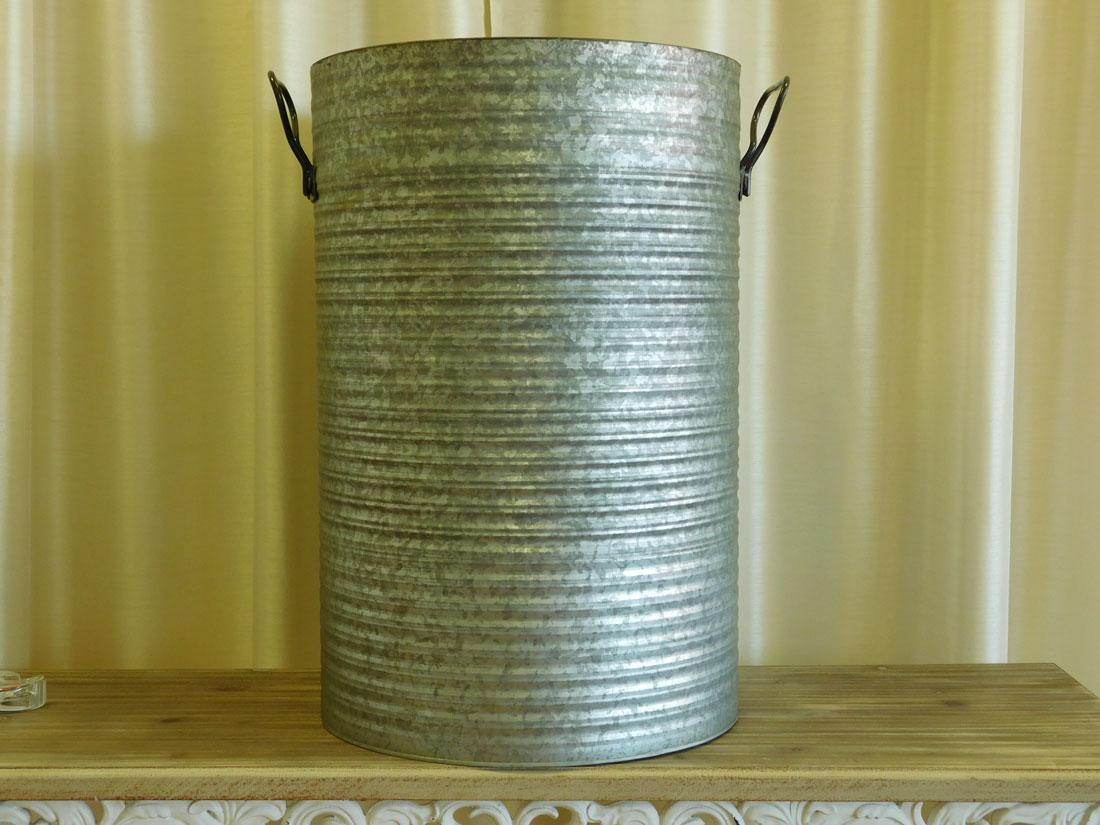 Galvanized Barrel