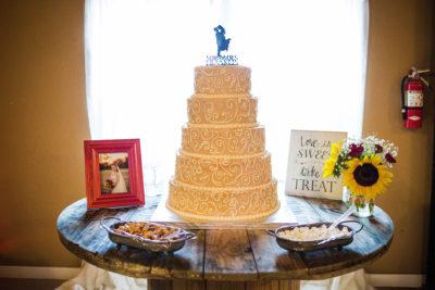 Cake table decor rental