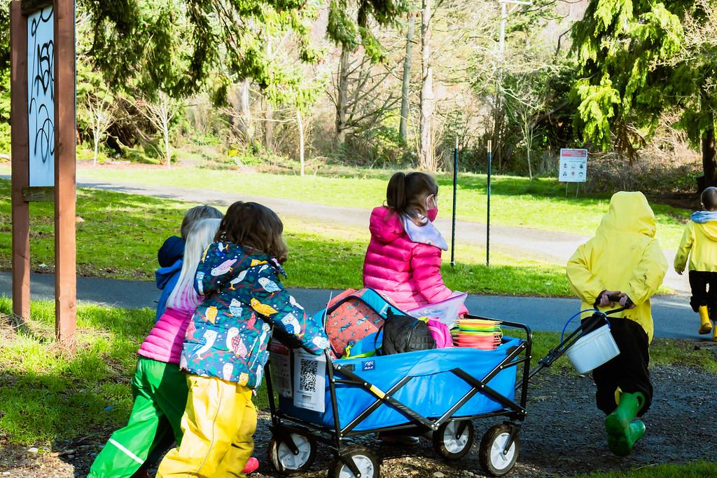 Alki Co-op Preschool Outdoor