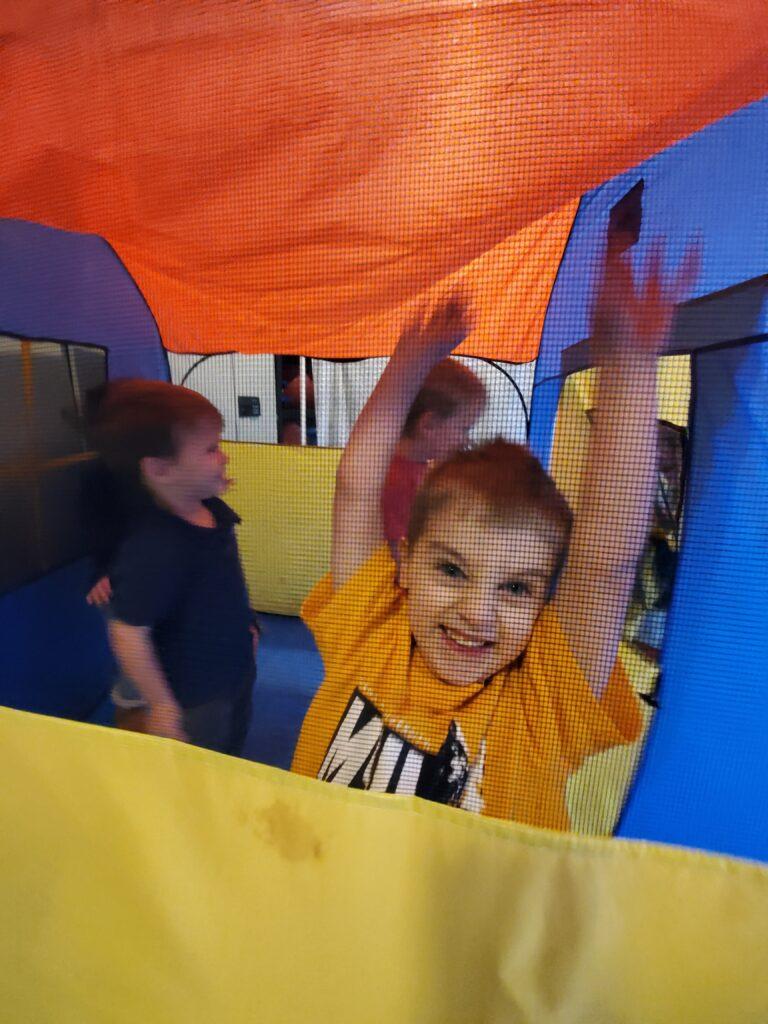 Tent in Climber Room at Alki Co-op Preschool
